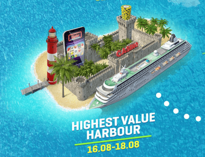 HIghest value harbour Guts sommercruise